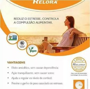 Relora 330mg 60 Cápsulas + Valeriana 100mg 60 Cápsulas : 2 Produtos para Emagrecer com Saúde