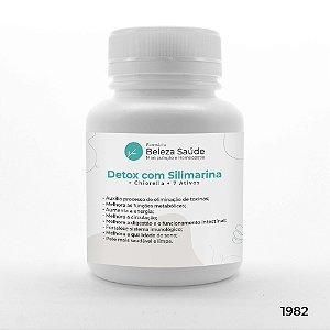 Detox com Silimarina + Chiorella + 7 Ativos