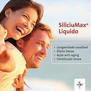 Siliciumax Líquido 300ml ( 30 Doses De 10ml ) : Renovação do Colágeno Pele Viçosa