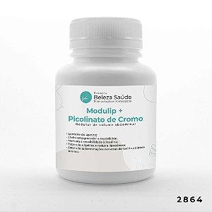 Modulip  + Picolinato De Cromo - Redutor Volume Abdominal