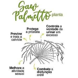 Saw Palmeto 570mg Saúde da Prostata e Capilar