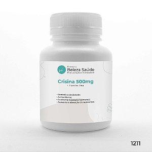 Crisina 500mg + Piperina 5mg - Saúde Corporal