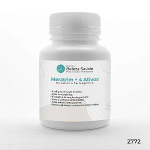 Meratrim + 4 Ativos -  Efeito Diurético e Termogênico
