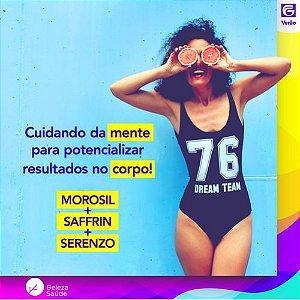 Morosil + Saffrin + Serenzo - Inibidor de Doces e Stress