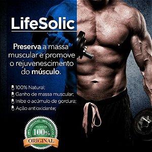 Lifesolic 300mg ( Ácido Ursólico ) Ganho de Massa Muscular