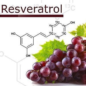 Resveratrol 500mg Saúde do Coração e Mental