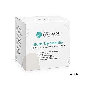 Pré Treino para Atletas de Alto Nível - Burn-Up Sachês 15g