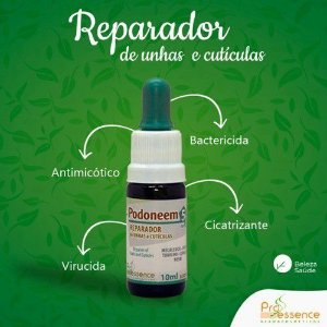 Podoneem - Restaurador de Unhas 10ml