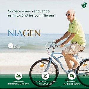 Niagen 300mg - Booster mitocondrial Anti Envelhecimento