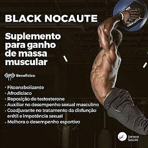 Fadogia Agrestis 250mg ( Black Nocaute ) - Aumenta o Desempenho Físico e Sexual