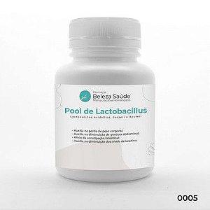 Pool de Lactobacillus - Probiótico para Emagrecer e Permanecer Magro Fórmula Dr. Lair Ribeiro