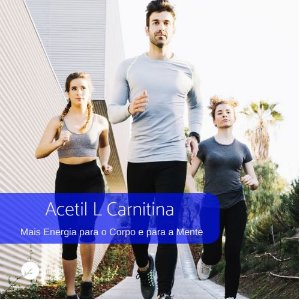 Acetil L Carnitina 250mg -  Energia Física e Mental