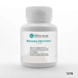 Bacopa Monnieri 500 mg : Memorização Retenção de Informações