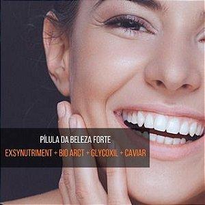 Exsynutriment + Bio Arct + Glycoxil + Caviar : Pílula da Beleza - Pele, Cabelos e Unhas Renovadas