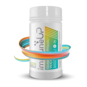 Própolis, Glutamina, Vitamina C e Zinco - Immune Up  - 120 Caps - Bellabelha