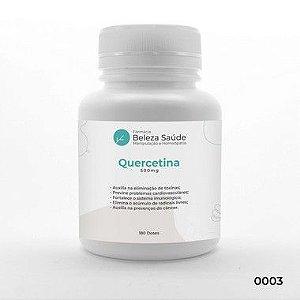 Quercetina 500mg Fortalece o Sistema Imunológico - 180 Cápsulas