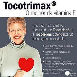 Tocotrimax 200mg - O Melhor Da Vitamina E - 60 Doses
