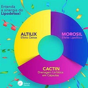 Morosil 400mg + Cactin 500mg + Altilix 100mg - Lipodetox - 90 doses