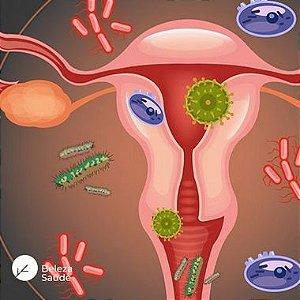 Lactobacillus Crispatus + Lactobacillus Acidophilus + Lactobacillus Reuteri  : Probióticos para Saúde Vaginal - 120 doses