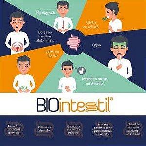 Biointestil 300mg Saúde Digestiva - 60 doses