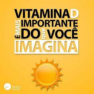 Vitamina D3 + Vit K2 + Vit A - Saúde dos Ossos - 90 doses