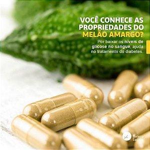 Bitter Melon ( Melão De São Caetano ) 500mg - Auxilia a reduzir os níveis de glicose no sangue - 60 doses