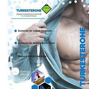 Turkesterone 510mg  Ajuga Turkestanica : Aumento da Massa Magra e Testosterona - 60 doses