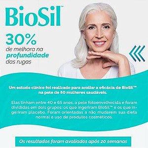 BioSil 300mg Tratamento da Pele e Cabelos e Unhas - 90 doses