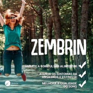 Zembrin 10mg Diminui a Compulsão Alimentar - 120 doses