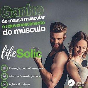 Lifesolic  450mg ( Ácido Ursólico ) Ganho de Massa Muscular - 60 doses