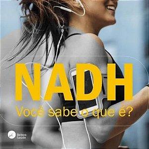 Nadh ( Nicotinamida Adenina Dinucleotídeo ) 10mg - Energia, Antioxidante e Antienvelhecimento - 60 doses