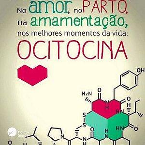 Ocitocina Sublingual 10ui :  Hormônio do Amor e da Convivência Social - 60 sachês