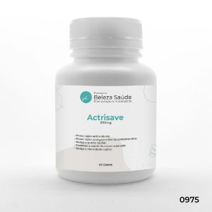 Actrisave 200mg Tratamento da Queda de Cabelos - 90 doses
