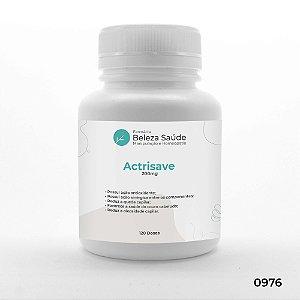 Actrisave 200mg Tratamento da Queda de Cabelos - 120 doses