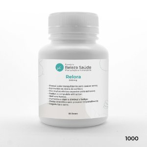 Relora 300mg - Controla a Ansiedade e Compulsão Alimentar - 60 doses