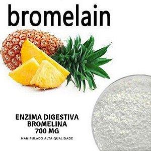 Bromelina 750mg Saúde Física e Sistema Digestivo - 120 doses