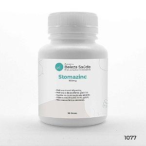 Stomazinc 150mg : Saúde Gástrica - Queimação, Azia, Má Digestão - 90 doses