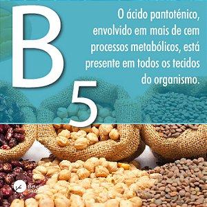 Vitamina B5 ( Ácido Pantotênico ) 500mg : 120 Cápsulas