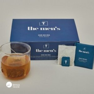 Chá The Mens : Termogênico, Energizante, Diurético 60 Sachês