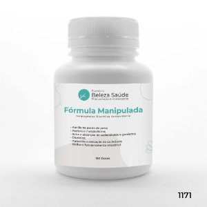 Fórmula Manipulada - Termogênico Diurético Antioxidante - 150 doses