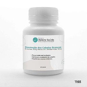 Cápsulas para Prevenção dos Cabelos Brancos ou Grisalhos - 30 doses