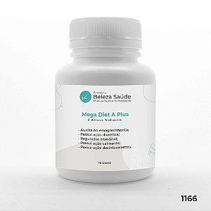 Composto Mega Diet A Plus - 8 Ativos Naturais - 75 doses
