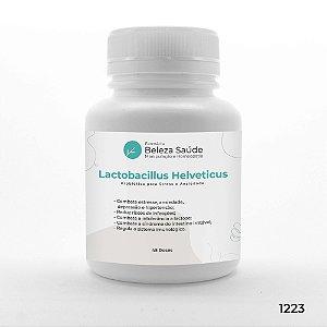 Lactobacillus Helveticus Probiótico para Stress e Ansiedade - 45 doses