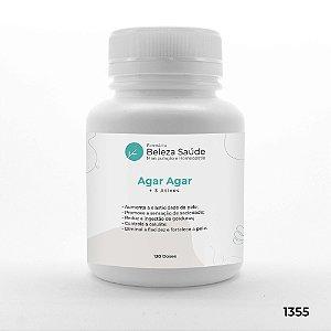 Agar Agar + 3 Ativos - Anti Flacidez e Firmeza da Pele - 120 doses