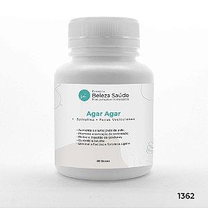 Agar Agar +  Spirulina + Fucus Vesiculosos - Antioxidante - 60 doses