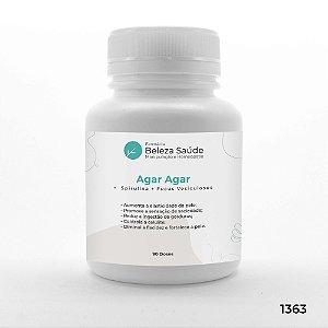 Agar Agar +  Spirulina + Fucus Vesiculosos - Antioxidante - 90 doses