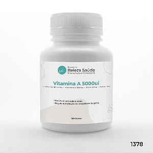 Anti Acne (Vitamina A 5000ui + Vitamina B6 50mg + Vitamina C 300mg + Zinco 15mg + Cobre 1mg) - 120 doses