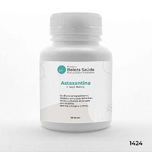 Astaxantina + Goji Berry - Antioxidante - 60 doses