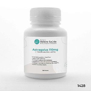 Astragalus 110mg + Timomodulina 50mg : Aumento da Imunidade - 120 doses