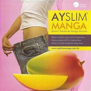 Ayslim Manga Africana 500mg  :  Modulador de Peso Natural, Inibidor Apetite, Queimador de Gordura - 120 doses